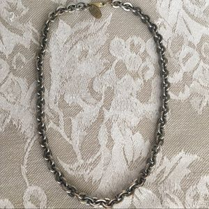 Miriam Haskell Silver Necklace